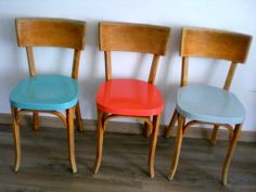 mes petites chaises relookée