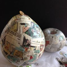 How to Make Paper Mache Vases from Balloons