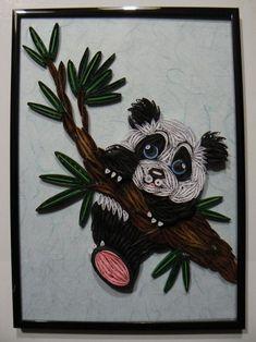 *QUILLING ~ PETIT PANDA