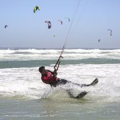 Approaching the world record in the Virgin Kitesurfing Armada South Africa Kitesurfing, World Records, Photography Portfolio, South Africa, Image