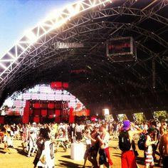 Coachella Electronic music stage...