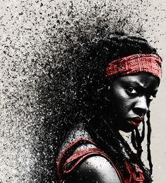 Fan Art magnifique de Michonne [Photo du jour]