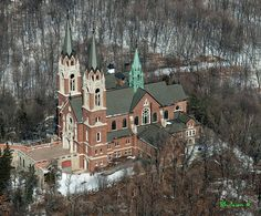 Holy Hill Basilica (Basilica of the National Shrine of Our Lady Help of Christians), Hubertus, Wisconsin