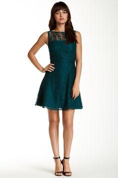 BB Dakota Sleeveless Flare Lace Dress by BB Dakota on @nordstrom_rack