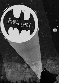 #batman #coffee