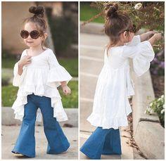 $18.99 (Buy here: https://alitems.com/g/1e8d114494ebda23ff8b16525dc3e8/?i=5&ulp=https%3A%2F%2Fwww.aliexpress.com%2Fitem%2F2016-Newest-Baby-Girl-Tops-Ruffles-Blouses-Vintage-Fashion-Flare-Sleeve-Dress-Cute-Europearn-American-Style%2F32595457253.html ) 2016 Newest Baby Girl Tops Ruffles Blouses Vintage Fashion Flare Sleeve Dress Cute Europearn&American Style Kids Spring Clothes for just $18.99