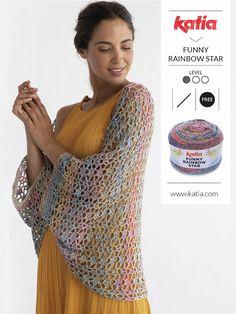 What to crochet in summer 10 free crochet patterns to make ponchos, shawls, beach wraps, bikinis…