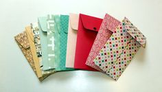 You always like to have these great paper packs that are inches tall. Budget Envelopes, Paper Envelopes, Envelope Punch Board, Diy Gifts, Handmade Gifts, Paper Basket, Gift Wrapping Paper, Stamping Up, Bookbinding