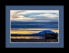 Tule Lake National Wildlife Framed Print featuring the photograph Tule Lake National Wildlife Refuge by Marnie Patchett