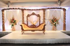 Asian Wedding Stages In London