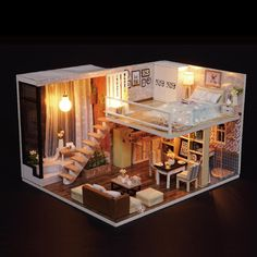 DIY Miniature Doll House - One Modern Day