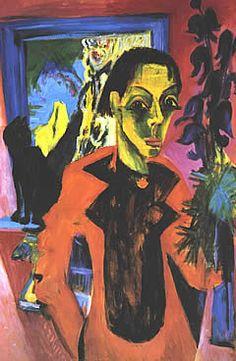 Kirchner: Autorretrato con sombra