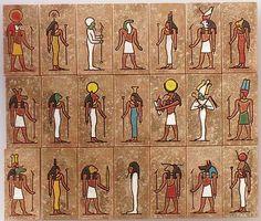 Egyptian Pantheon    http://pagan-network.com/blogs/paganism-beliefs/pagan-gods/egyptian-gods-and-goddesses/