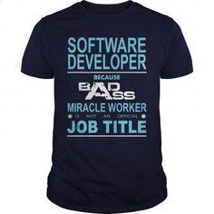 Software Developer - #customized sweatshirts #silk shirt. MORE INFO => https://www.sunfrog.com/Jobs/Software-Developer-90878804-Navy-Blue-Guys.html?60505