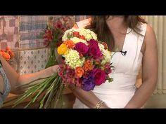 Vida Melhor - Passo a passo: Arranjo de flores da Primavera (Camila K)