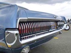 1967 Mercury Cougar rear sequential tail light. These were so cool!