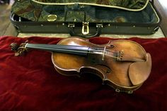 "The del Gesu owned and played by Paganini ""Ill Cannone"" The most valuable violin in the world, property of Genoa, Italy, and sometimes, loaned, to worthy violinists."