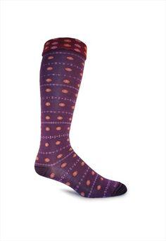 Goodhew Eliza print single pair knee socks.