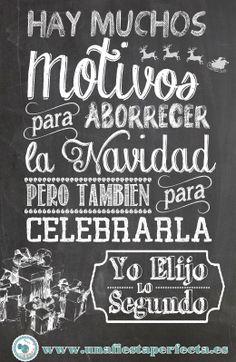 Felicitación navideña en castellano! www.unafiestaperfecta.es