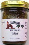 Rhubarb Jelly Rhubarb Preserves, Rhubarb Jelly, Coconut Oil, Jar, Food, Jars, Meals, Glass, Coconut Oil Uses