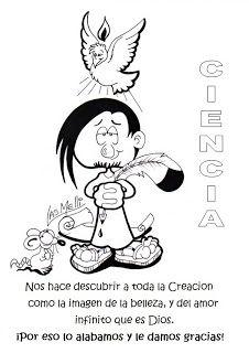 SGBlogosfera. Amigos de Jesús: APRENDEMOS Y COLOREAMOS