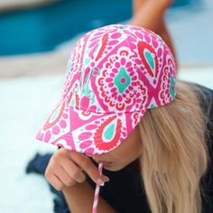 0f91175a513 Personalized Girls Baseball Hat Cap The perfect hat for a day out in the sun .