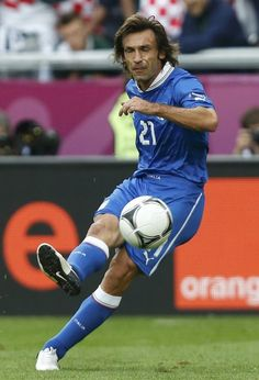 UEFA Euro 2012 - Andrea Pirlo (Italien), zentrales Mittelfeld.