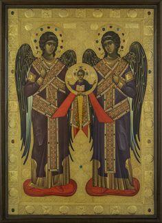 Expozitie 2019 - Lucrari Archangels, Cherub, Byzantine Art, Painting, Archangel Michael, Orthodox Christian Icons, Art, Art History, Byzantine