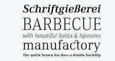 Florian Klauers Schriftfamilie Ethos #typo #typografie #typedesign