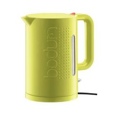 Lime Bodum kettle