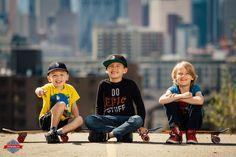 Cute kid skateboarders!