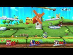 Super Smash Bros for Wii U Entrenando a mi mejor amiibo es el mas poderoso