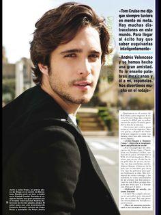 Diego Boneta en Revista ¡HOLA! No. 379
