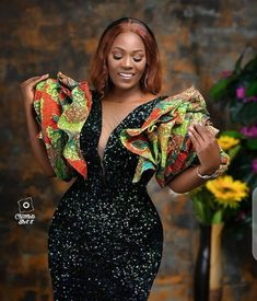 African Party Dresses, Latest African Fashion Dresses, African Print Fashion, African Dress, African Clothes, African Prints, Latest Fashion, Ankara Skirt And Blouse, Ankara Dress