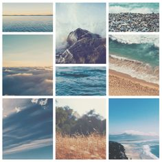Make beautiful collages with your favorite photos using grids, ensure to apply the same filter to each image for consistency.