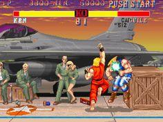 1993 - Street Fighter II Turbo - Ken vs. Guile