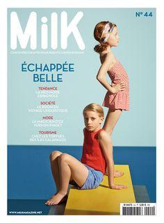 MilK 44 est en kiosque ! MilK 44 is now available! Editorial Revista, Editorial Layout, Editorial Design, Editorial Fashion, Magazine Layout Design, Magazine Cover Design, Magazine Covers, Milk Magazine, Magazines For Kids