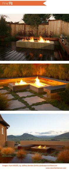 Fire Pit backyard inspiration. www.jenniferhohner.com