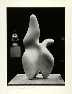 Jean Arp A la suite de lUnesco Plaster Sculpture, Sculptures Céramiques, Abstract Sculpture, Sculpture Art, Jean Arp, Modern Art, Contemporary Art, Ceramic Sculpture Figurative, Mid Century Art