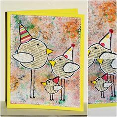 made in Liochka: trois petits oiseaux pour soutenir