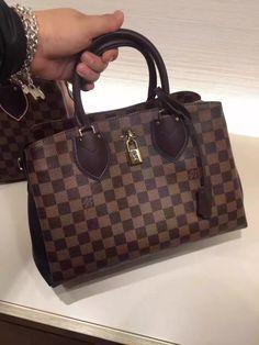 Louis Vuitton Damier Normandy Bag N41487 Noir