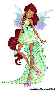 Winxsome-Magic!: New Winx Club Aisha Harmonix & Ballet PNGs!