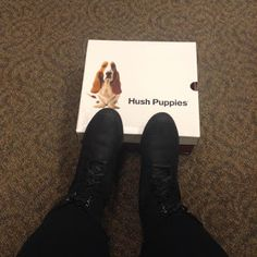 Happy ChinaDoll: Give Someone a Hush Puppies Love this Christmas~ #...