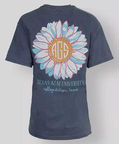 Texas A&M Spring t-shirt #AggieGifts #AggieStyle