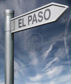 El Paso road sign #VisitElPaso
