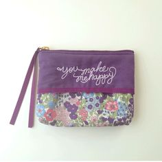 Tissuecase pouch purple http://bonony.thebase.in