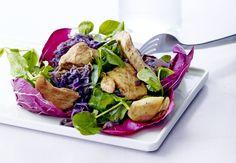 Sunn middag på 30 minutter | Iform.nu Edamame, Quick Meals, Food Hacks, Potato Salad, Diabetes, Foodies, Steak, Food And Drink, Curry
