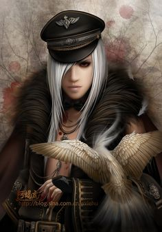 95 best beauty images on pinterest cabello de colores character art by axiehu fandeluxe Images