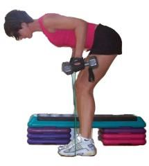 16 Great Mid-Back Exercises - Work Your Lats with These Creative Exercises: Dumbbell Rows with Bands