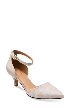 Clarks® 'Sage Glamour' d'Orsay Pump (Women) available at #Nordstrom
